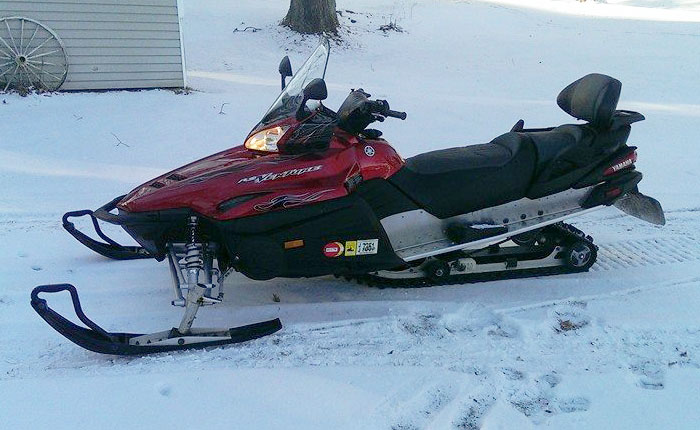 Donated Snow Mobile