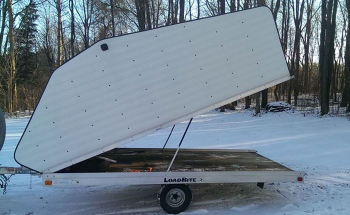 Donated Snow Mobile Trailer